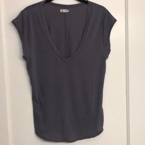 V Neck Free People T-shirt